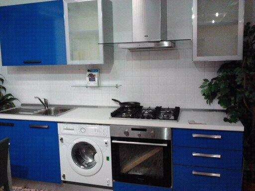 Stunning Cucine Con Lavatrice Contemporary - Home Design Ideas ...